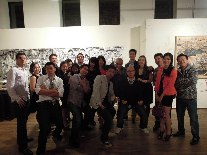 TAP-Chicago Project Vision Fall Soiree & Silent Auction Group Picture