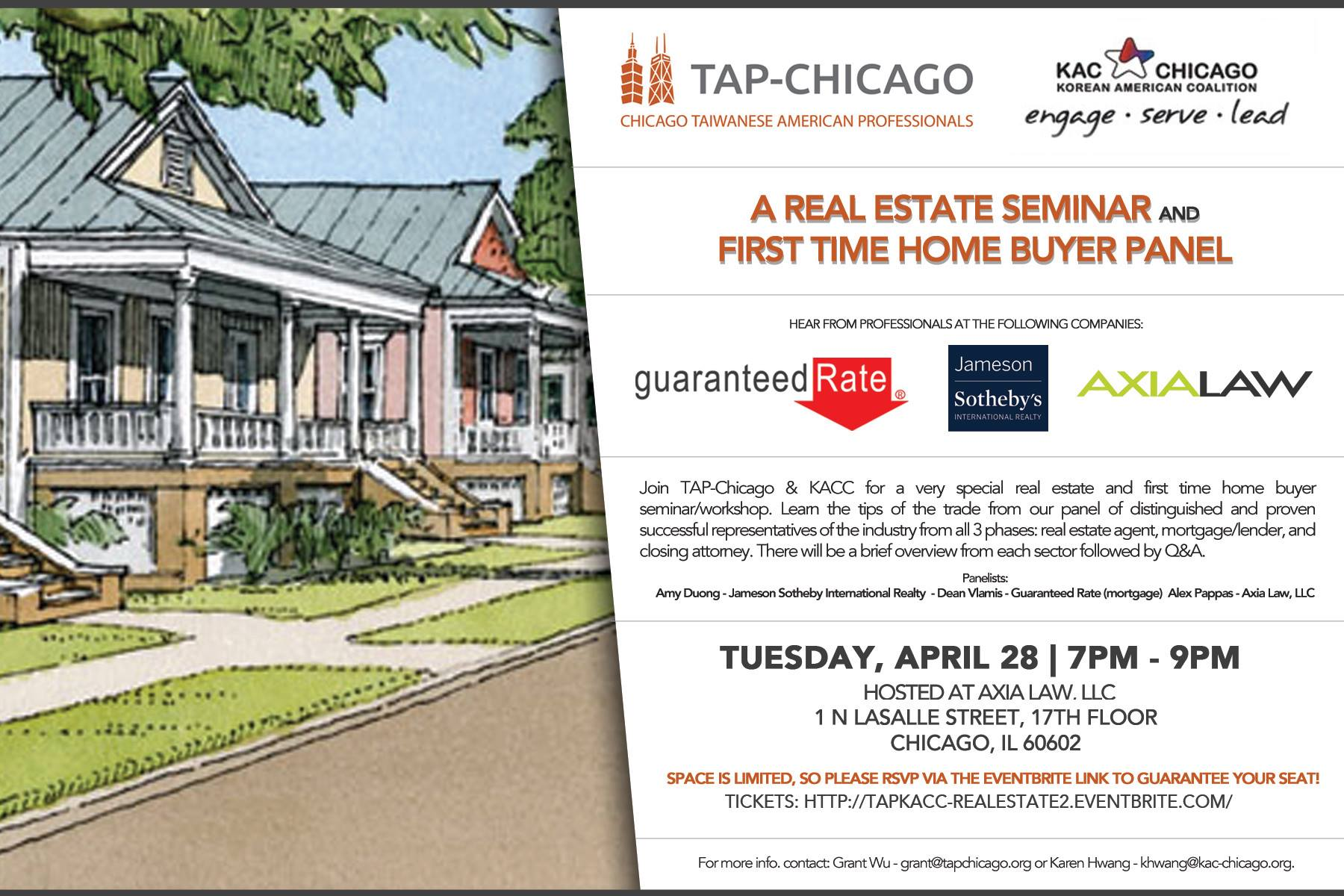 Real Estate Seminar First Time Home Buyer Panel