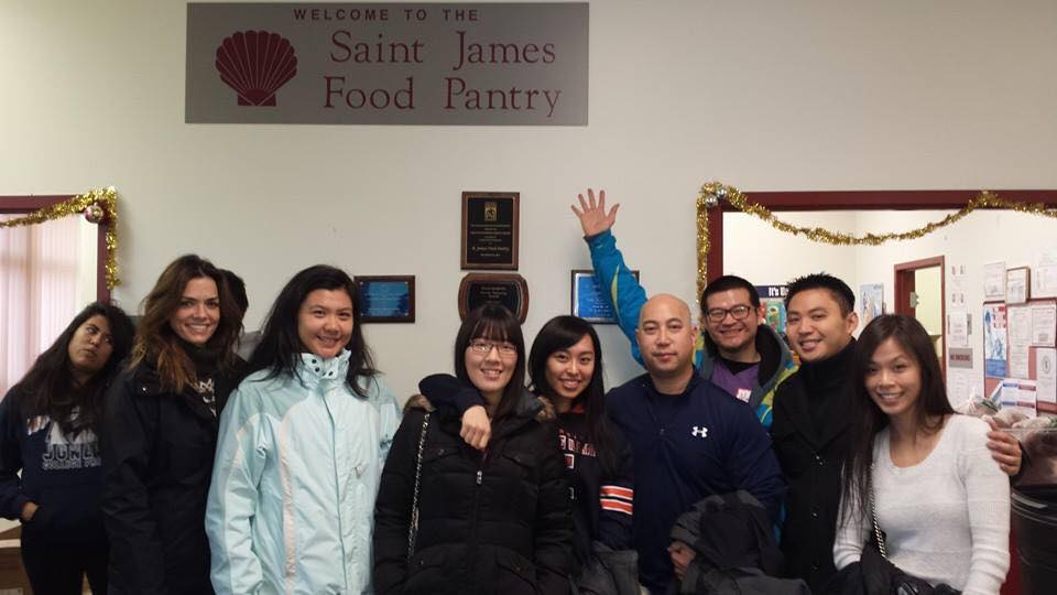 st james food pantry volunteer event tap chicago