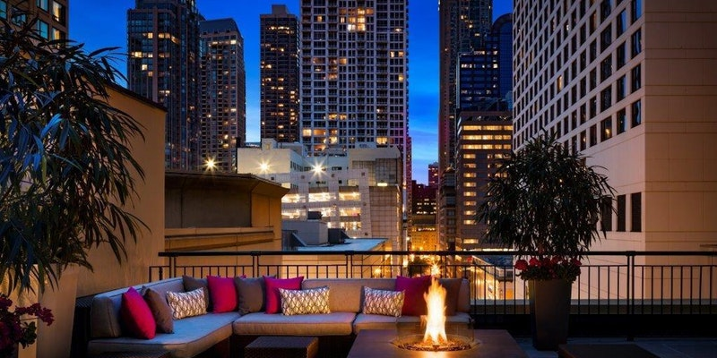 Join Tap Chicago At Our July Hy Hour Mixer On The Newly Renovated Rooftop Terrace Gwen Hotel Named One Of Best Hotels In 2016 By